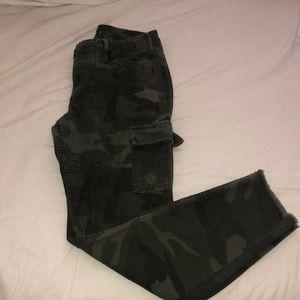 Abercrombie & Fitch Jeans - Cameo low rise boyfriend pants